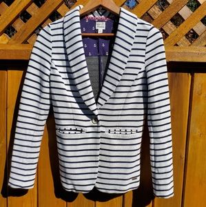 Hatley Nautical Perfect Fit Blazer Size S